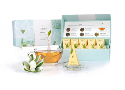 Introducing Tea Forte's  LOTUS - a curated collection of teas for mind, body & spirit.