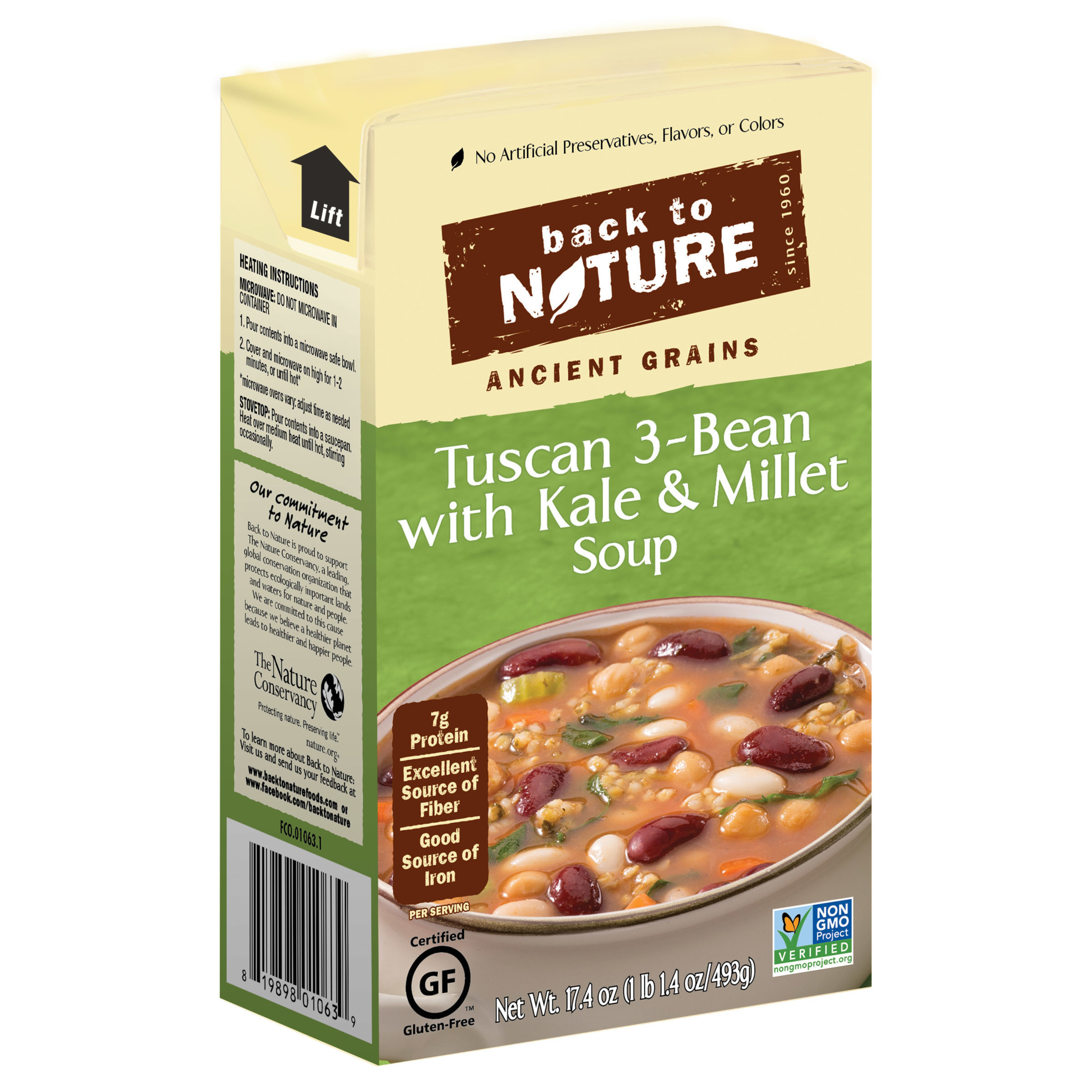 Back to Nature Expands Product Offerings with New Line of Soups and Cereals