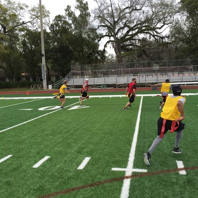 Wounded Warrior Project planned a day of flag football for wounded veterans at the Episcopal School in Jacksonville.