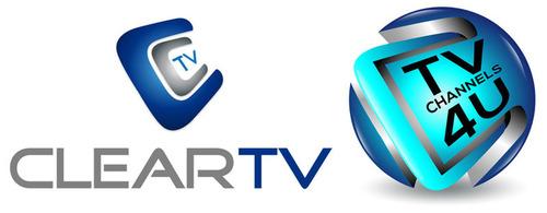 ClearTV and TVChannels4u.  (PRNewsFoto/ClearTV Ltd)