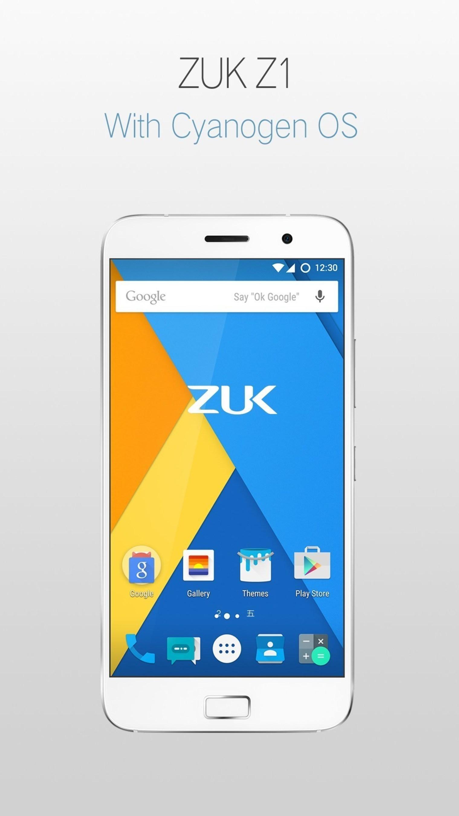 ZUK официально представляет международную версию смартфона Z1, созданную в партнерстве с Cyanogen
