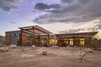 Blu Homes Origin Model in Joshua Tree, CA.  (PRNewsFoto/Blu Homes, Inc.)
