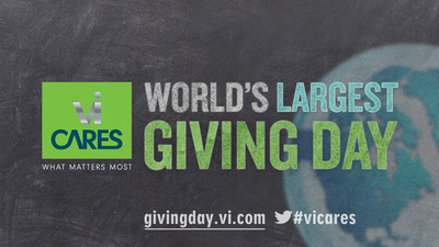 ViSalus Invites Everyone to Join World's Largest Giving Day on Saturday, Dec 15th 2012.  (PRNewsFoto/ViSalus)