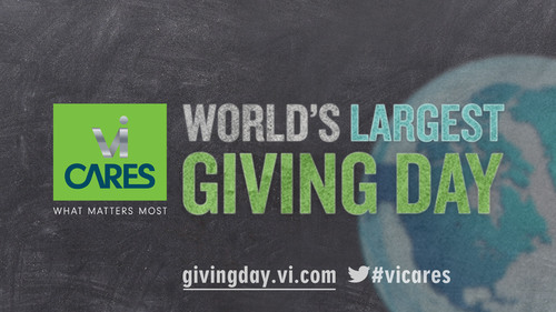 ViSalus™ Announces World's Largest Giving Day on December 15th