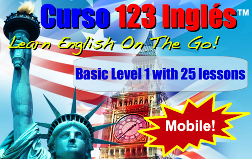 Curso 123 Ingles Mobile. Learn English On The Go. The world's first Prepaid card with an English Course for mobile phones. (PRNewsFoto/123 Ingles) (PRNewsFoto/123 INGLES)