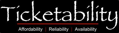 Reliability, Affordability, and Availability at Ticketability.com. (PRNewsFoto/Ticketability, LLC) (PRNewsFoto/TICKETABILITY, LLC)