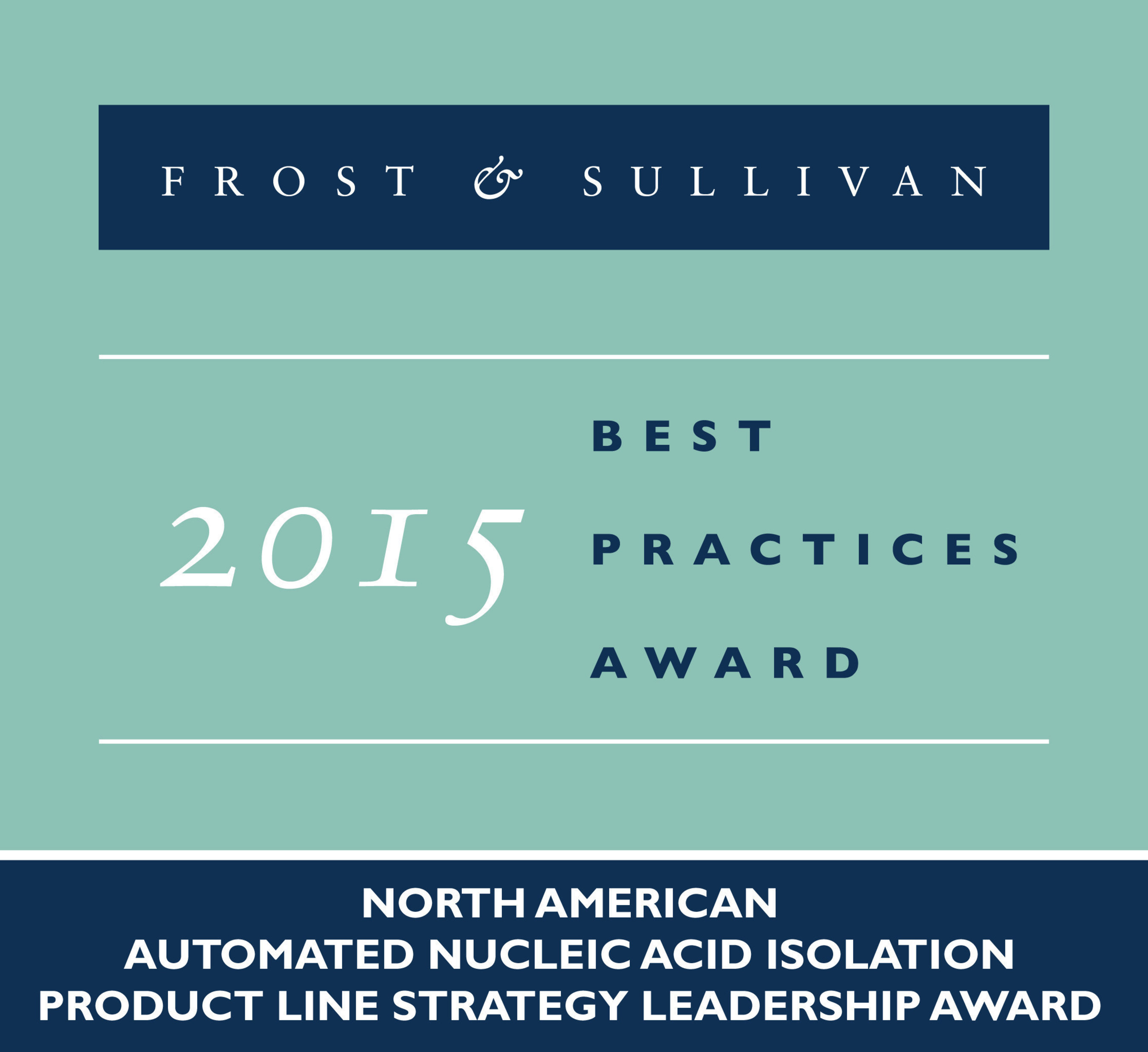 Frost & Sullivan Acknowledges PerkinElmer's Automated Nucleic Acid Isolation Products