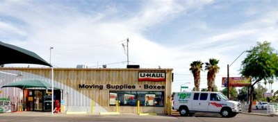 U-Haul Storage at 19th Avenue Improves Services to Benefit Phoenix Community. (PRNewsFoto/)