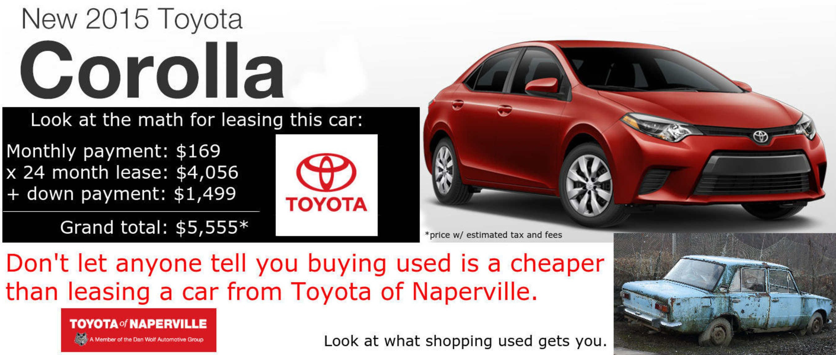 Toyota of Naperville educates customers on leasing advantages