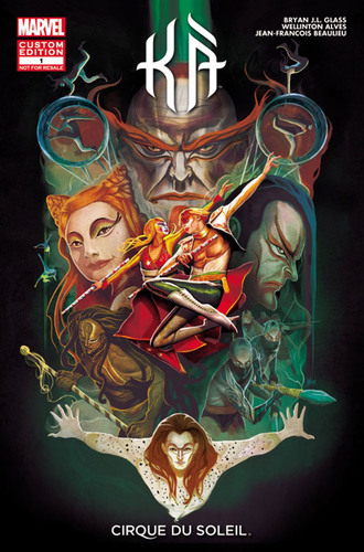 KA BY CIRQUE DU SOLEIL AND MARVEL CUSTOM SOLUTIONS INTRODUCE ALL-NEW COMIC BOOK: KA #1.  (PRNewsFoto/Cirque du ...