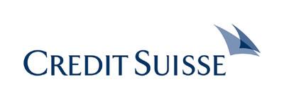 Credit Suisse logo. (PRNewsFoto/Credit Suisse)