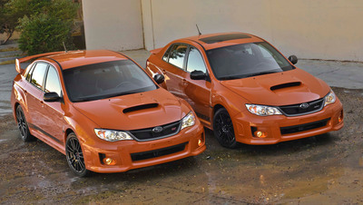 2013 Subaru WRX And WRX STI Special Editions Debut At SEMA Show.  (PRNewsFoto/Subaru of America, Inc.)