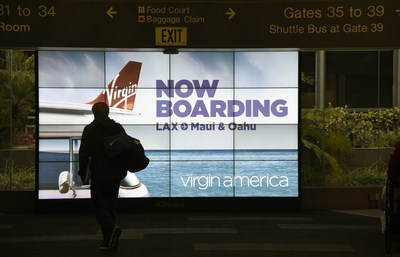 Virgin America Launches flights from LAX to Maui on June 14, 2016.