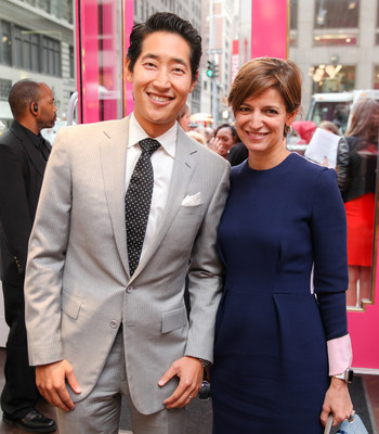 Charming Charlie CEO Charlie Chanaratsopon & Glamour Editor in Chief Cindi Leive (Photo Credit - BFA)