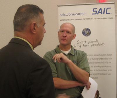 Best Recruiter Sean Williams, SAIC.  (PRNewsFoto/ClearedJobs.Net)