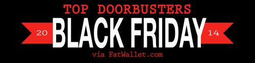 Black Friday Doorbusters Good-Better-Best List from FatWallet.com