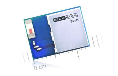 BT111 is a low cost and ultra small Bluetooth Smart Ready HCI module that is designed for applications where both Bluetooth classic and Bluetooth low energy connectivity is needed. BT111 integrates a Bluetooth 4.0 dual mode radio, HCI software stack, USB interface and an antenna. BT111 is compatible with Windows and Linux operating systems and Microsoft and BlueZ Bluetooth stacks and offers OEMs fast and risk free way to integrate Bluetooth 4.0 connectivity into their applications.