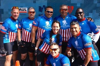 WWP Alumni enjoying camraderie during the 2015 Boston Soldier Ride.