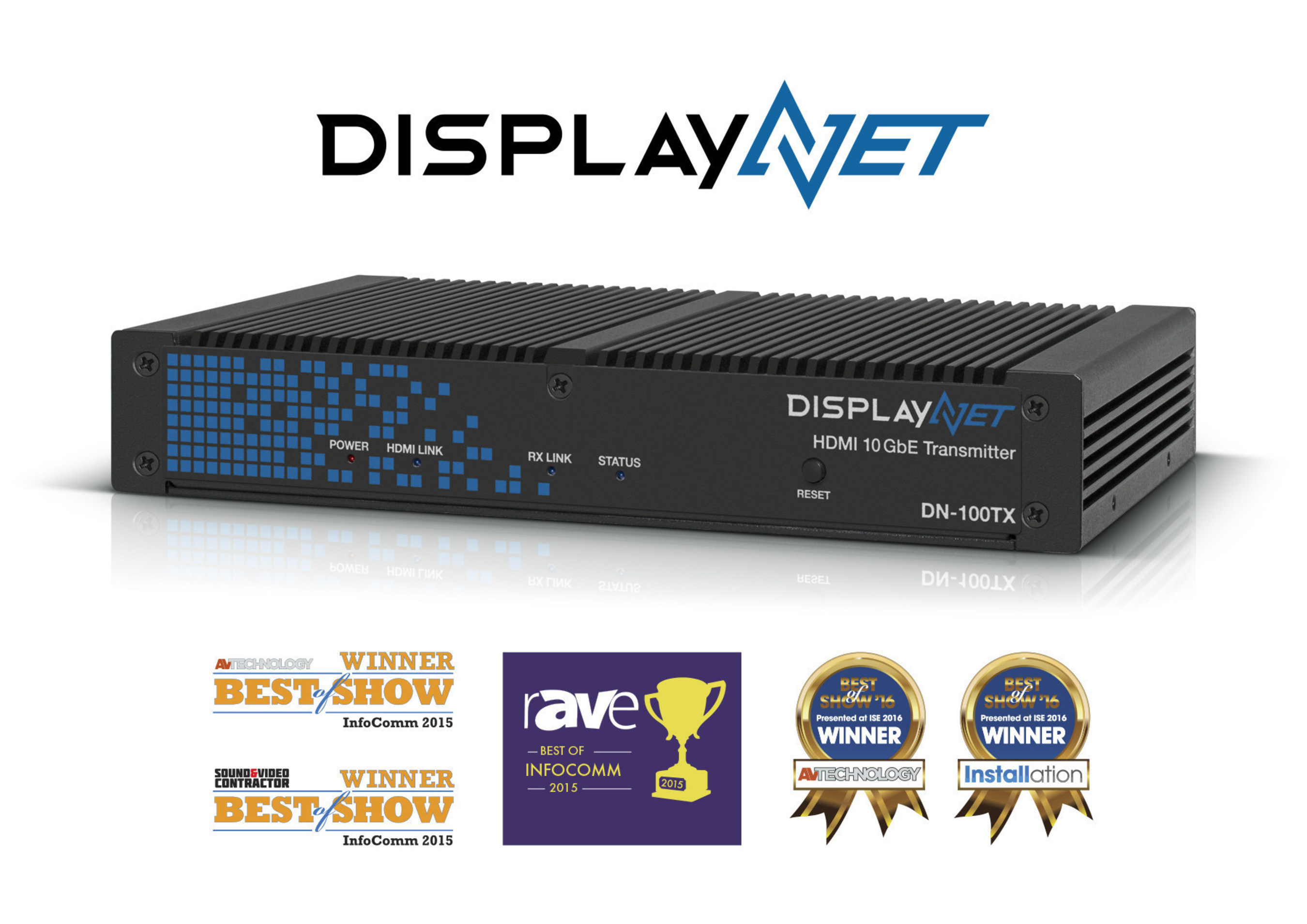 DVIGear's DisplayNet™ Wins Fifth Best of Show Award