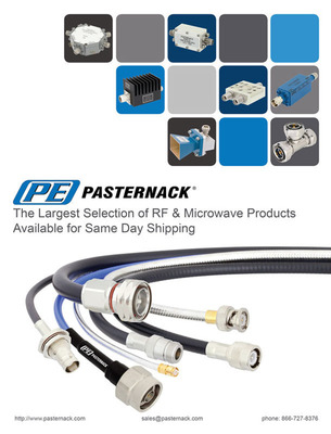 Pasternack 2013 RF Products Catalog.  (PRNewsFoto/Pasternack Enterprises, Inc.)