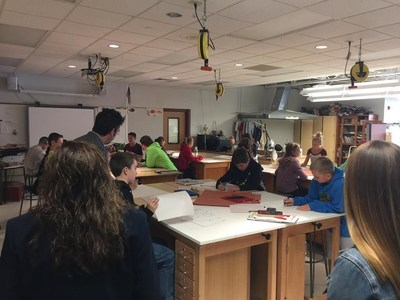 Cross-sector educators in Pittsburgh see real-world learning in action at Avonworth, a member of the League of Innovative Schools