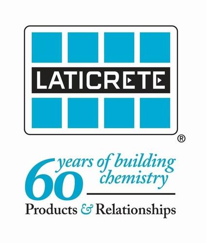 60th year - LATICRETE (PRNewsFoto/LATICRETE)