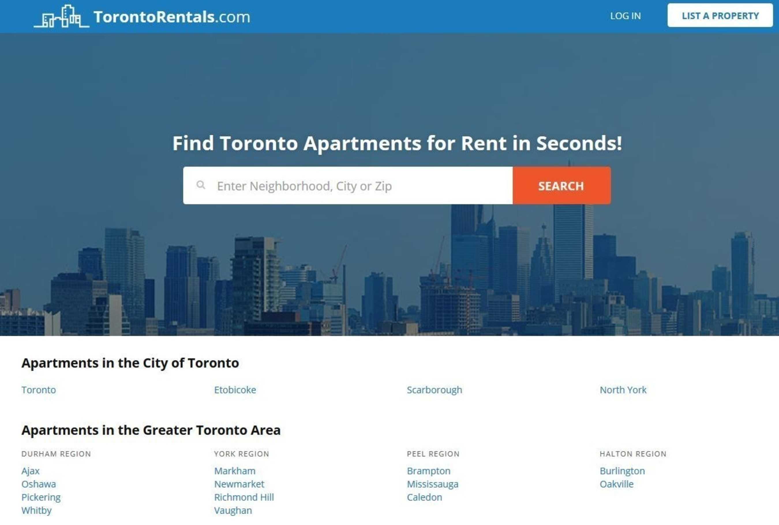 TorontoRentals.com Relaunches Website in Celebration of 20 Year Anniversary