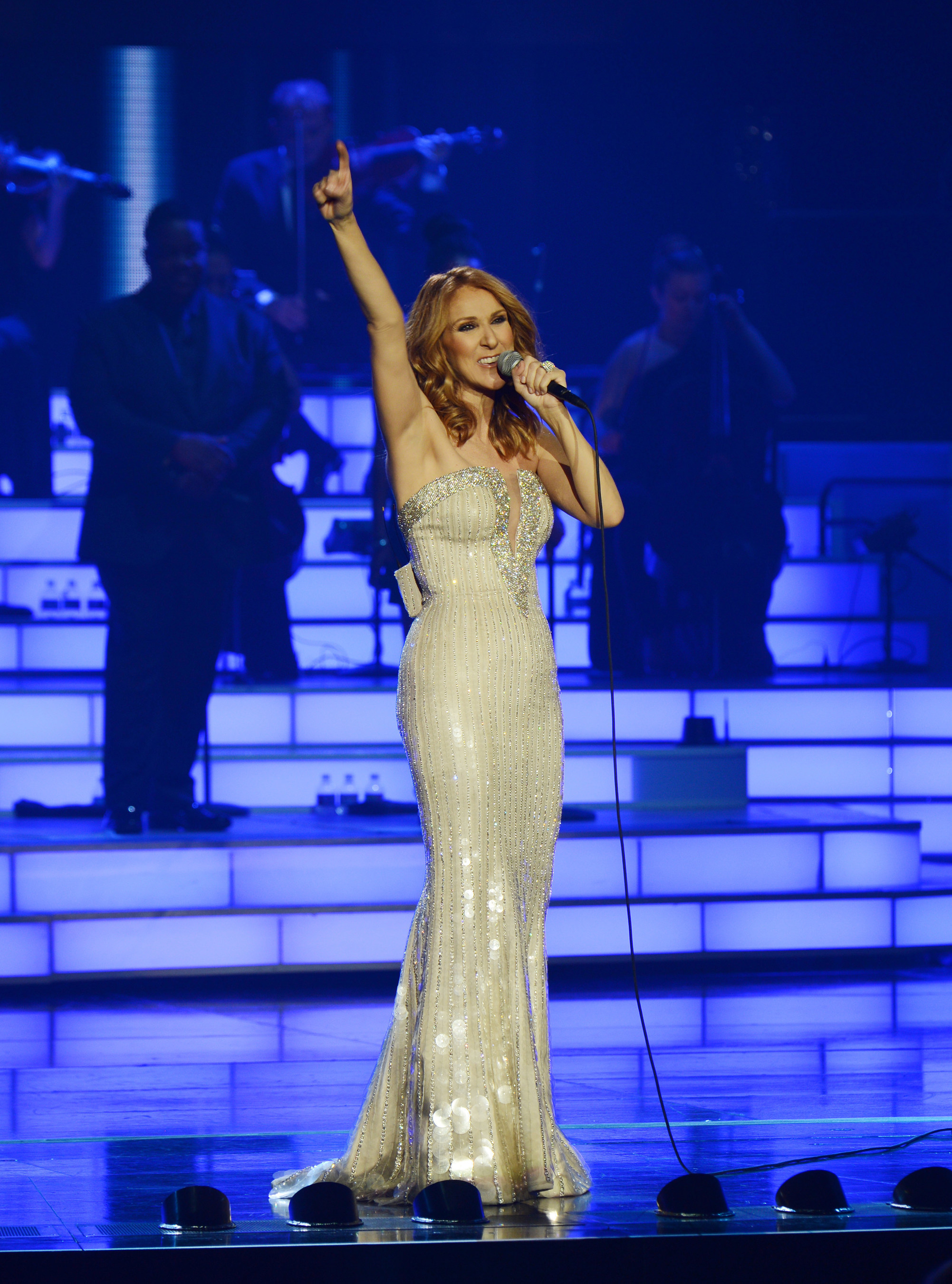 C'line Dion Celebrates Milestone 1,000 Shows at the Colosseum at Caesars Palace