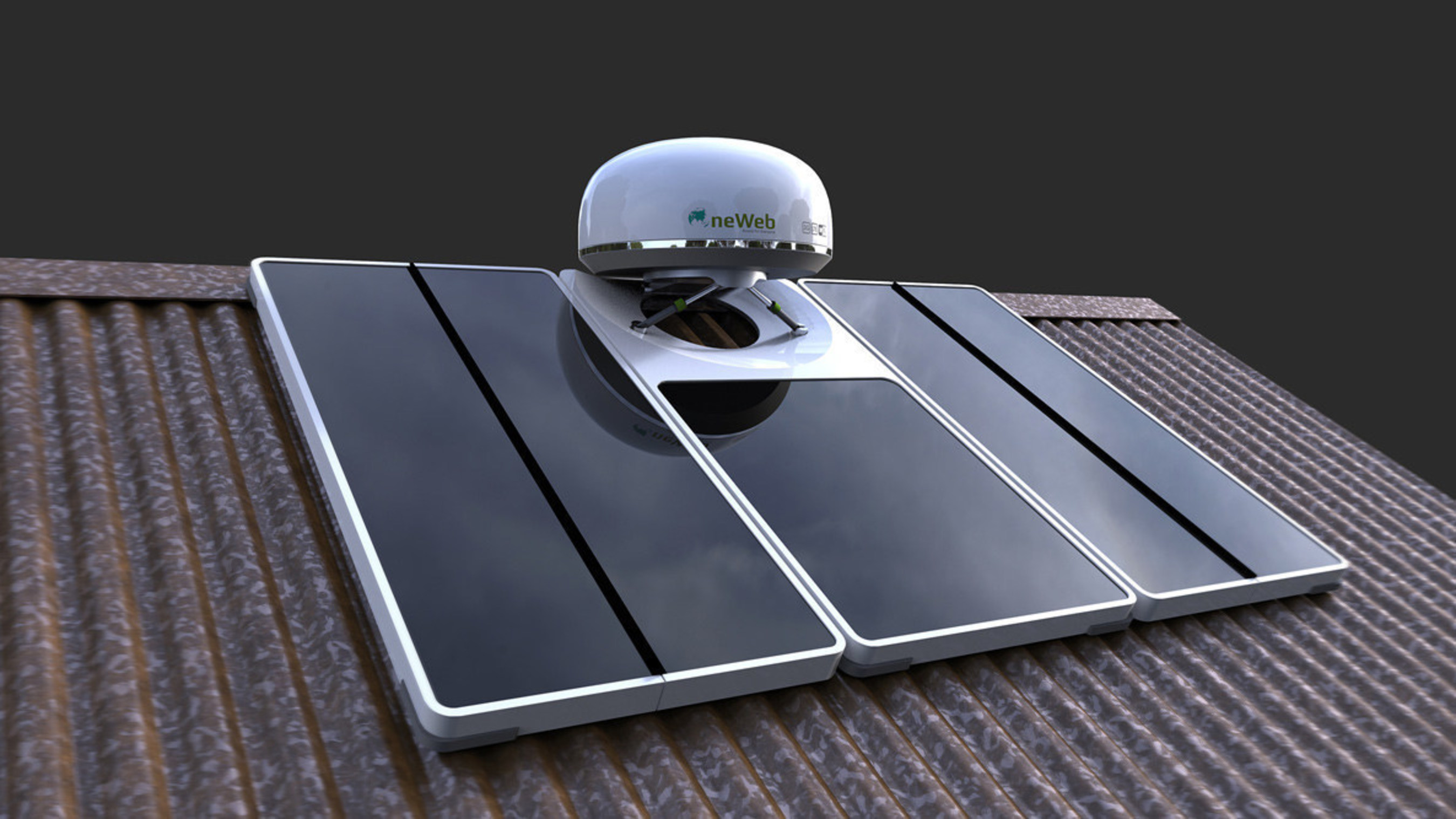 The OneWeb user terminal and solar array is designed to enable anyone, anywhere to connect easily to the internet. OneWeb's mission is to connect the 56 percent of the globe that currently has no access to the Internet. The industrial design, created by Design Concepts, Inc., recently won an International Design Excellence Award (IDEA) from the Industrial Design Society of America (IDSA) in the social impact category.
