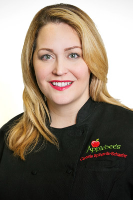 Cammie Spillyards-Schaefer is the new executive chef and vice president, culinary and menu strategy for Applebee's Neighborhood Grill & Bar(R).