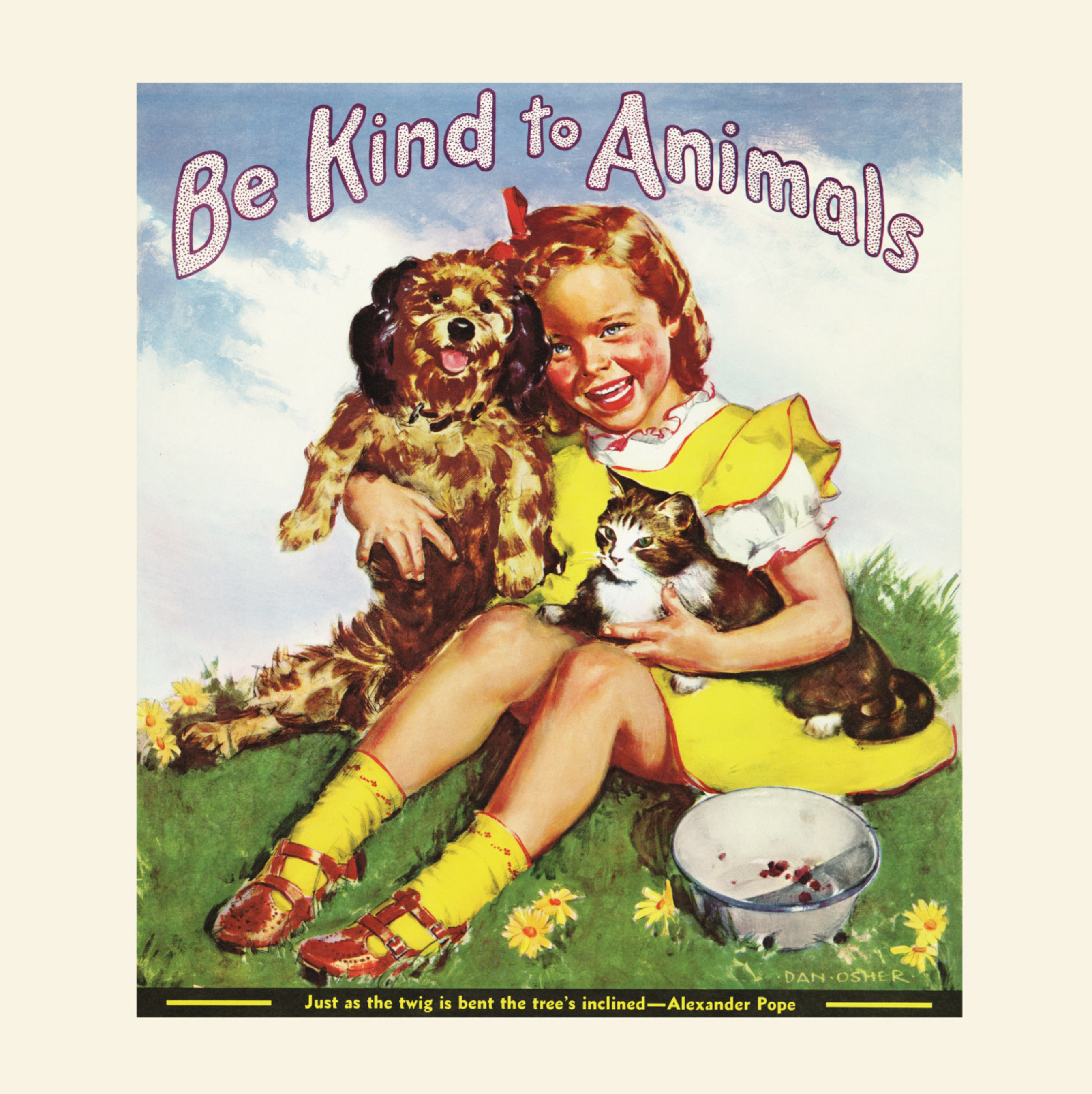 """American Humane Association's """"Be Kind to Animals Week"""" turns 100! Take the Kindness100 Pledge at Kindness100.org!"""