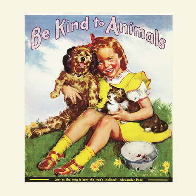 "American Humane Association's ""Be Kind to Animals Week"" turns 100! Take the Kindness100 Pledge at Kindness100.org!"
