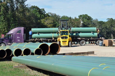 L.B. Foster Announces Agreement to Acquire Ball Winch Pipeline Services.  Acquisition Expands Company's Tubular Products Pipe Coating Capabilities.  (PRNewsFoto/L.B. Foster Company)