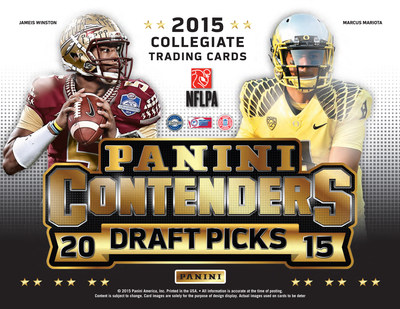 PANINI AMERICA RECEIVING HIGH MARKS FOR ITS FIRST COLLEGE FOOTBALL TRADING CARD PRODUCT