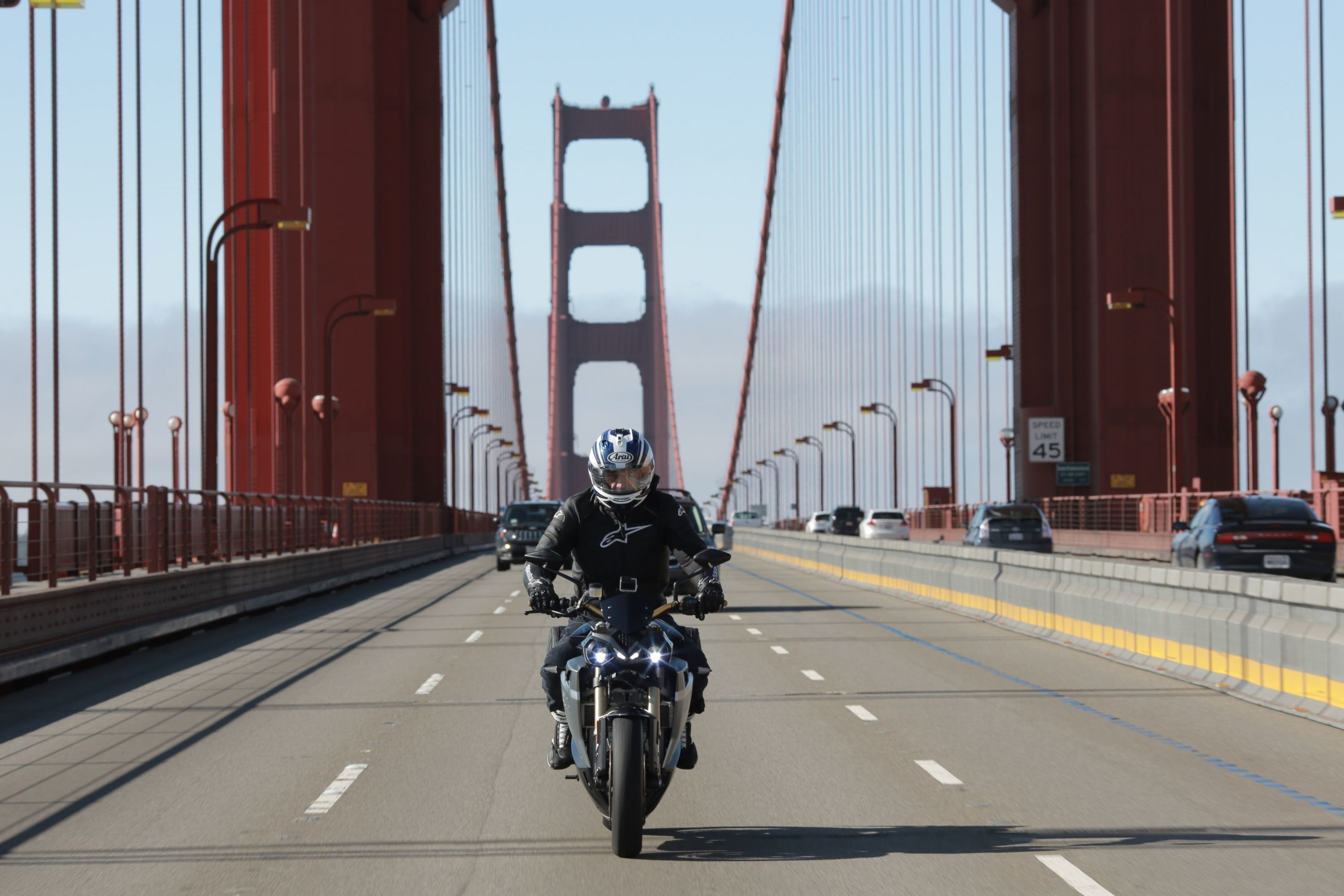 Energica Eva and Bill Levasseur - San Francisco