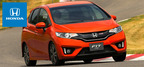 The 2014 Honda Fit is capable of traveling 82 miles on a single charge.  (PRNewsFoto/Benson Honda)