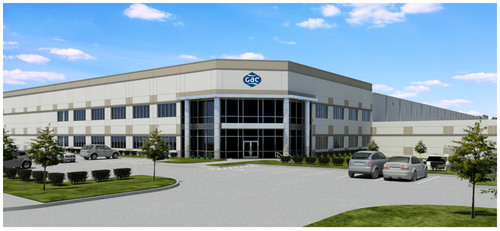 GAC Energy & Marine Services LLC., 180,0000+ Sq. Ft. LEED Certified Warehouse/Office located at 16200 Central Green Blvd. Houston, Texas.  (PRNewsFoto/GAC Group)