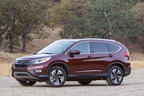 2016 Honda CR-V Achieves Highest Overall Score for Collision Safety from the National Highway Traffic Safety Administration