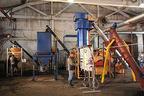 Konstanta line for processing of carbon.  (PRNewsFoto/Technokomplex)