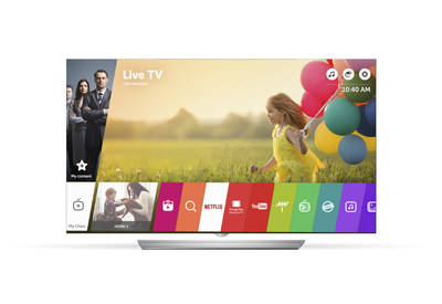 LG will unveil its updated webOS 3.0 Smart TV platform with new advanced features at CES(R) 2016.