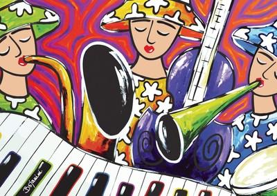 Musicians by Ana Cristina Bojanini