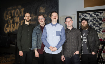 "BEARSTRONAUT NAMED WINNER OF ""GET OUT OF THE GARAGE"" PRESENTED BY GUITAR CENTER AND CONVERSE"
