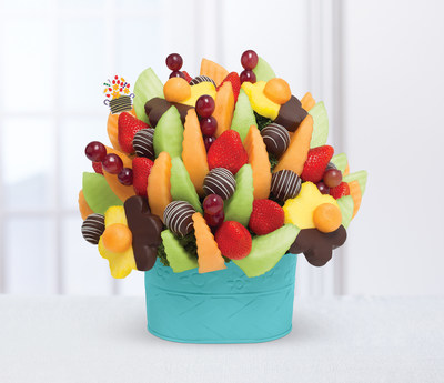 Edible Arrangements(R) Creates Exclusive Fruit Arrangement For Taste Of Home