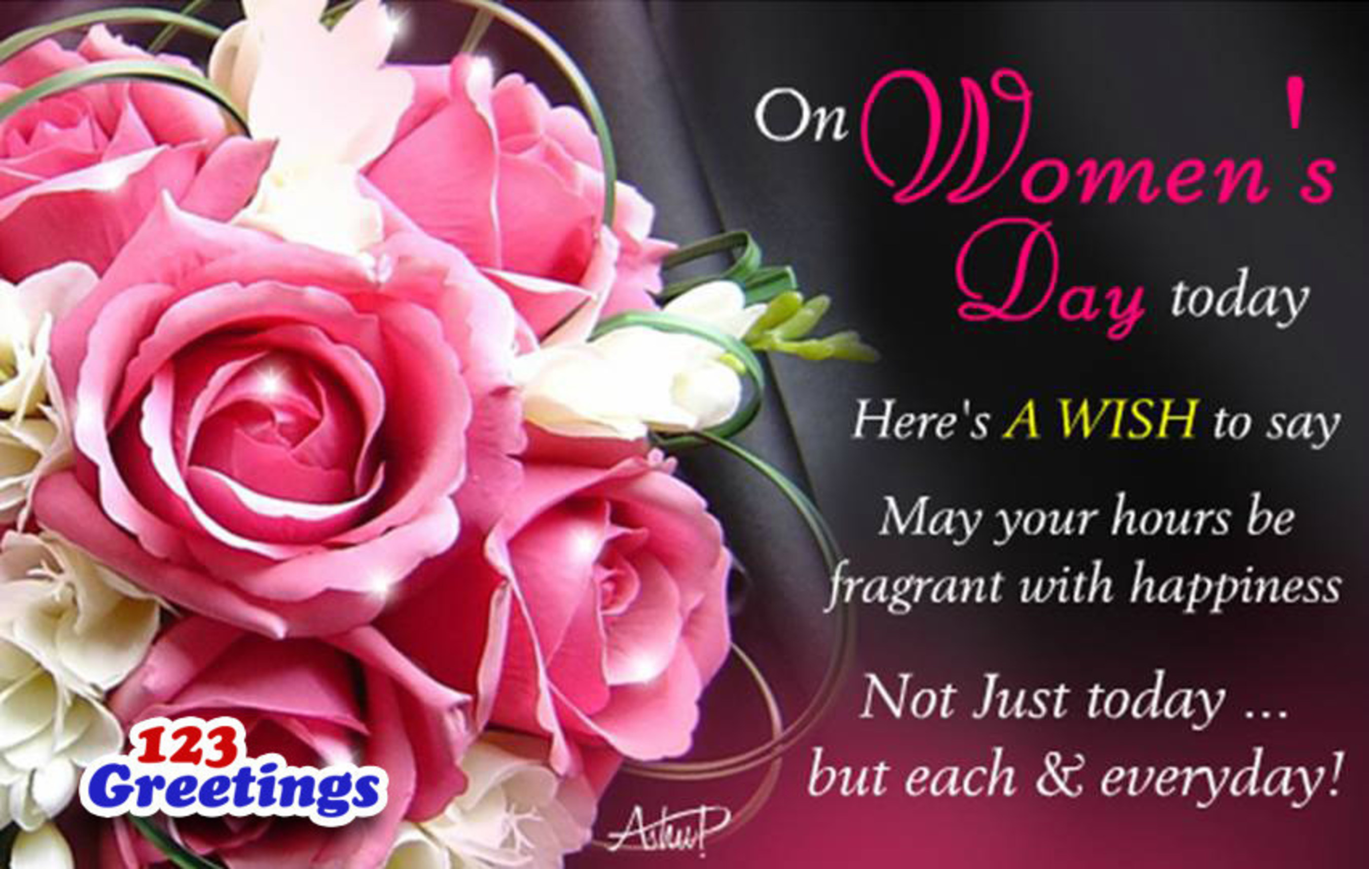 Over 400 International Women's Day Ecards To Delight The Tech Savvy, From 123Greetings.com