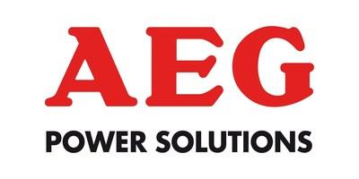 Logo AEGPS (PRNewsFoto/AEG Power Solutions)