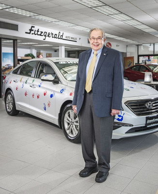 Jack Fitzgerald, CEO and Founder of Fitzgerald Auto Malls, recognized as the Catholic Business Person of the Year by the Catholic Business Network