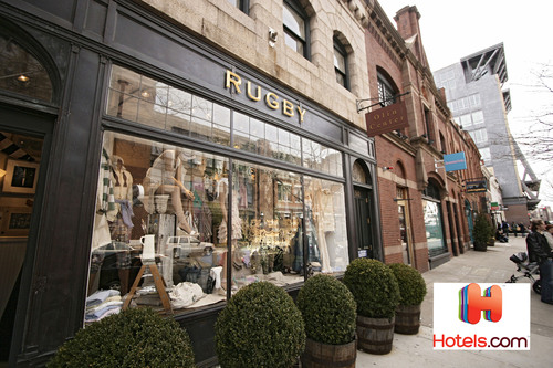 Travel expert Hotels.com directs chic travelers to top-rated hotels within the best fashion districts ...