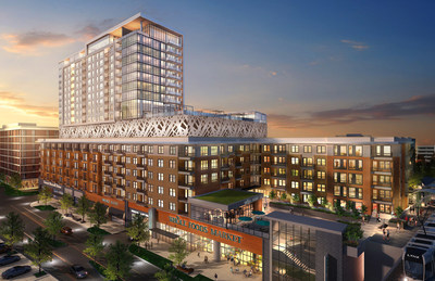 Crescent Communities Stonewall Station Rendering