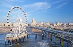 Europe's First Ferris Wheel Over Sea Opened on The Pier in Scheveningen (PRNewsFoto/Den Haag Marketing)