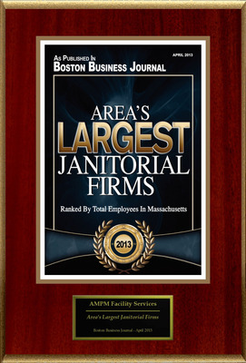 "AMPM Facility Services Selected For ""Area's Largest Janitorial Firms"""